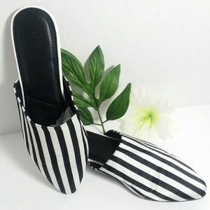 Urban Outfitters striped Flats / slides